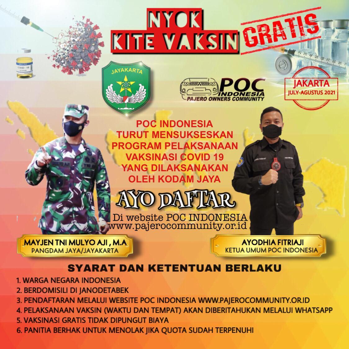 Vaksin POC Indonesia